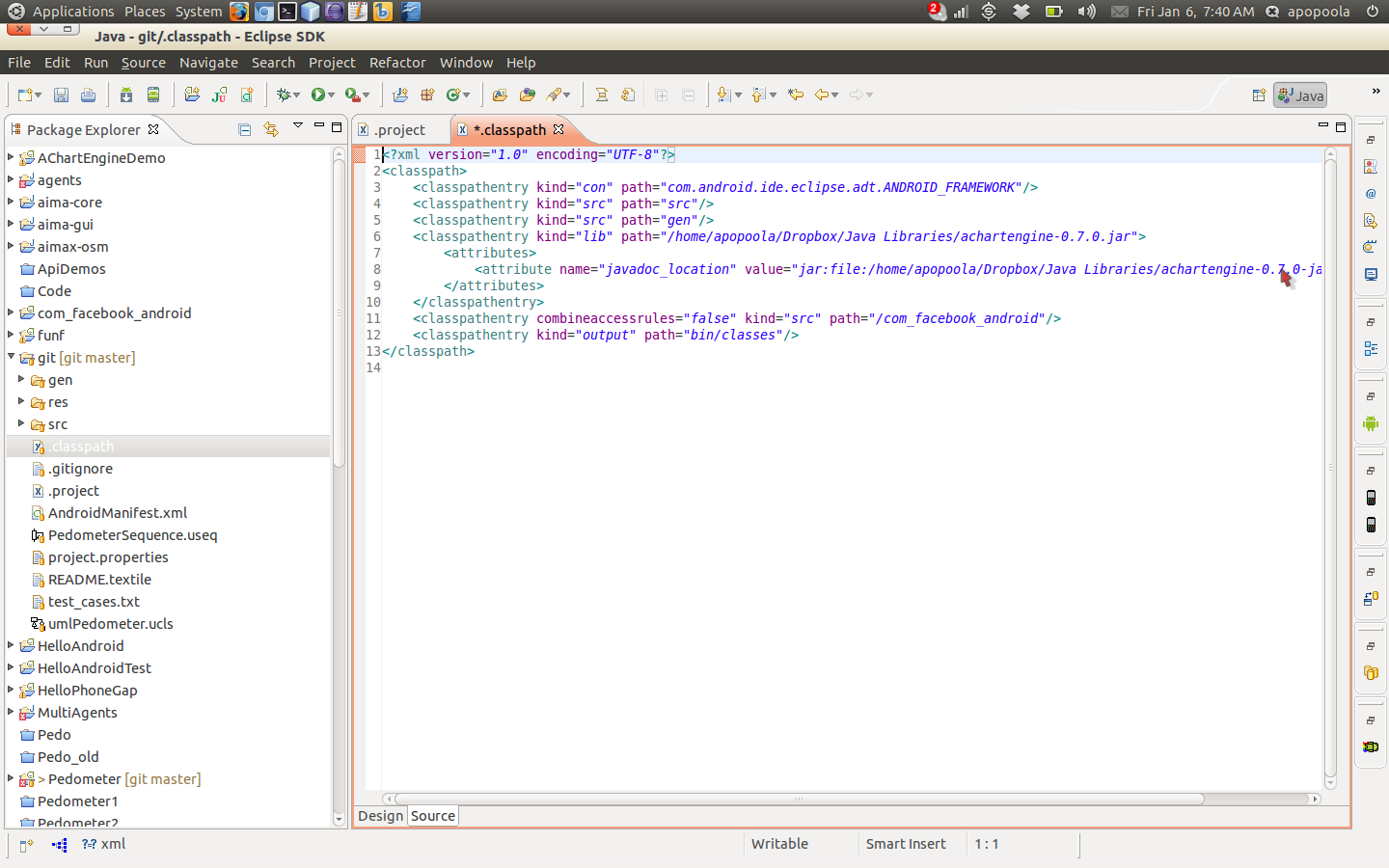 And the classpath too...